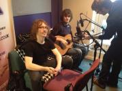Acoustic Recording session with Cardiff University radio station